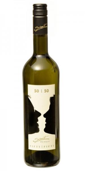 """50:50 Cuvée"" Weißwein feinherb 2020"