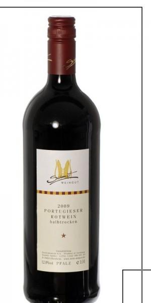 Portugieser Rotwein halbtrocken 2018